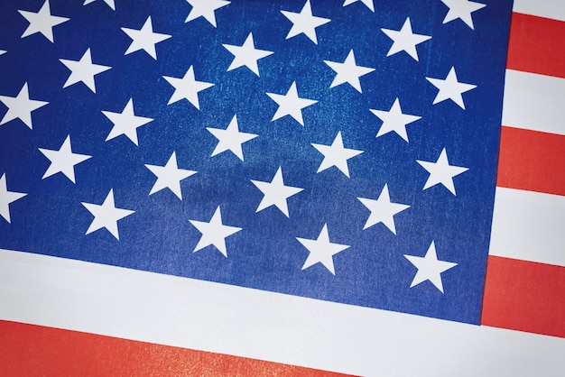 Usa american national flag as a, close up