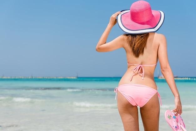 Usa happy hat vacation sea