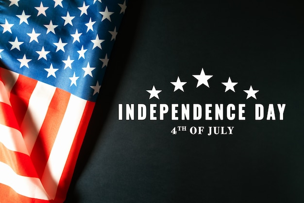 Usa independence day 4th of july concept, united states of america flag