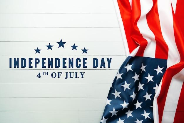 アメリカ独立記念日7月4日の概念、アメリカ合衆国の旗
