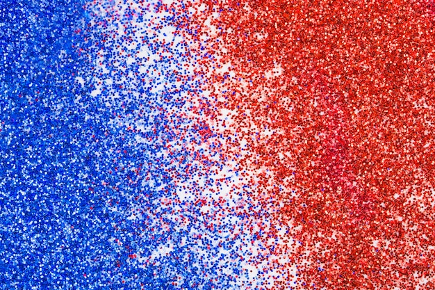 Usa independence day glitter background