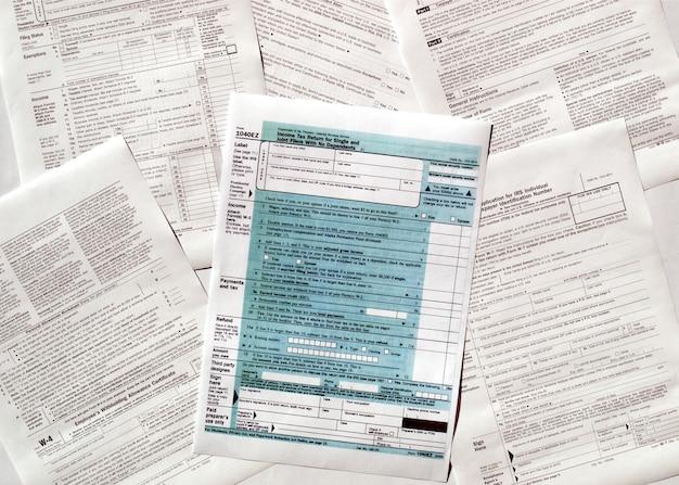 Usa tax forms
