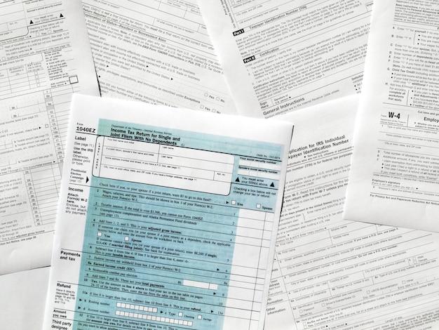 米国の税務フォーム