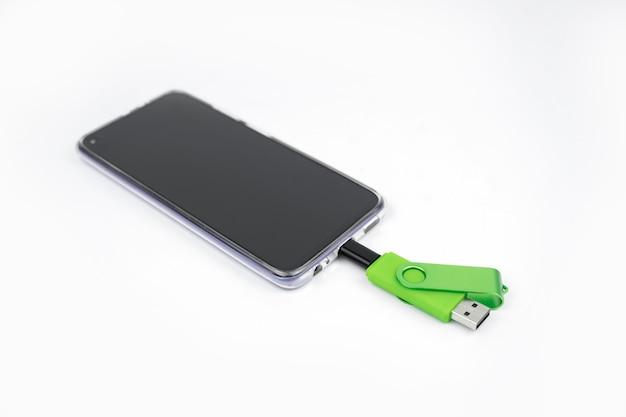 Usb 2.0 마이크로 usb 플래시 드라이브. 전화 용 otg 메모리 스틱. 듀얼 플래시 카드
