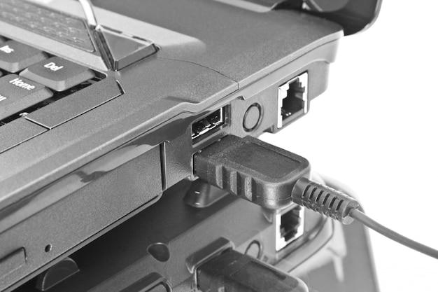 Usb-устройство подключено к ноутбуку