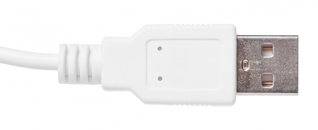 Крупным планом вид usb-кабеля