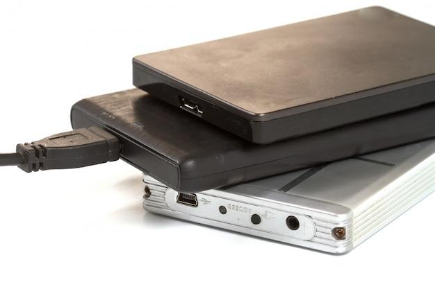 Внешний жесткий диск с usb-кабелем