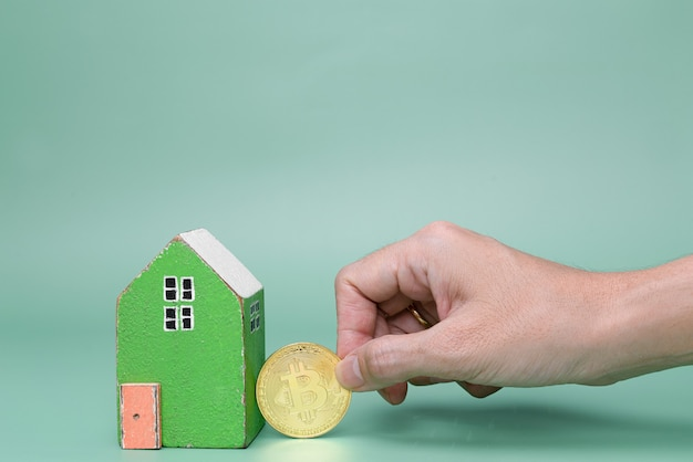 Use cryptocurrency coins to buy housing or to invest in real estate