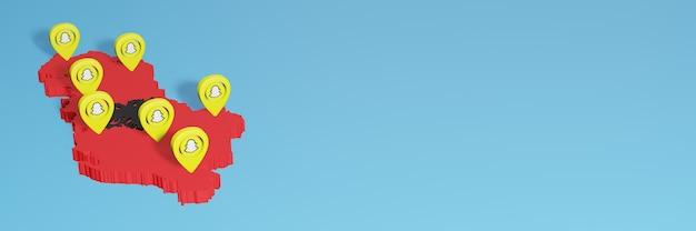 ソーシャルメディアテレビとウェブサイトの背景カバーの空白スペースのニーズのためのアルバニアでのsnapchatの使用