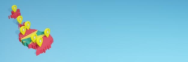 ソーシャルメディアテレビとウェブサイトの背景カバーのニーズのためのグレナダでのsnapchatの使用