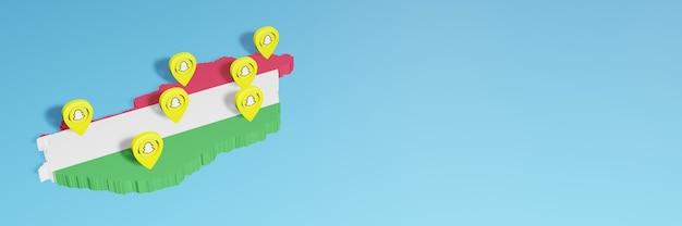 ソーシャルメディアテレビとウェブサイトの背景カバーの空白スペースのニーズのためのハンガリーでのsnapchatの使用
