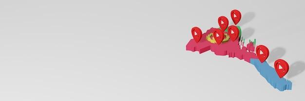Использование социальных сетей и youtube в эритрее для создания инфографики в 3d-рендеринге