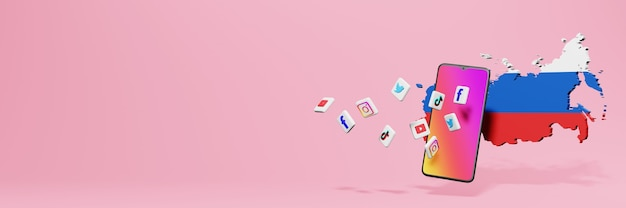 Использование wa fb ig youtube и tiktok в россии для нужд телевидения и веб-сайтов в социальных сетях