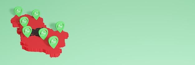 알바니아에서 whatsap을 사용하여 소셜 미디어 tv 및 웹 사이트 배경 커버 공백 공간 필요