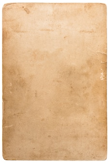 Used photo cardboard texture. scrapbook object. old paper sheet with edges