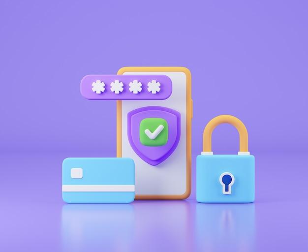 Защита учетной записи пользователя безопасность онлайн-платежей и банковских операций