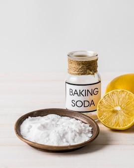 Использование пищевой соды для органических чистящих средств