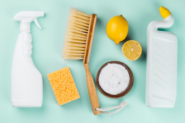 Using lemons for organic cleaning house products