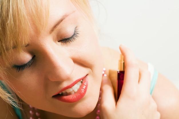 Using perfume