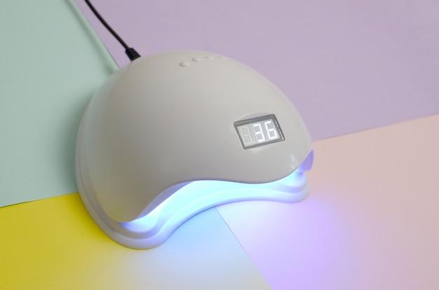 Уф светодиодная лампа для ногтей
