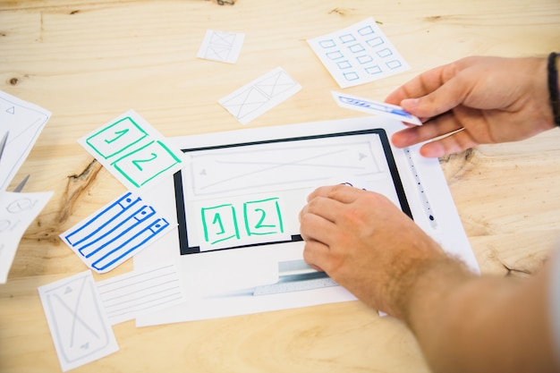 Ux design tablet