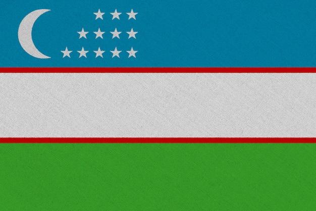 Флаг узбекистана из ткани