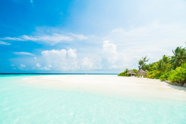 Vacation island ocean sea hotel