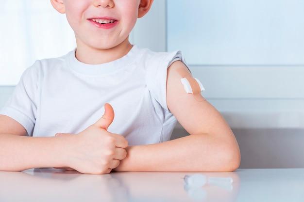 인구 개념의 예방 접종 및 예방 접종.