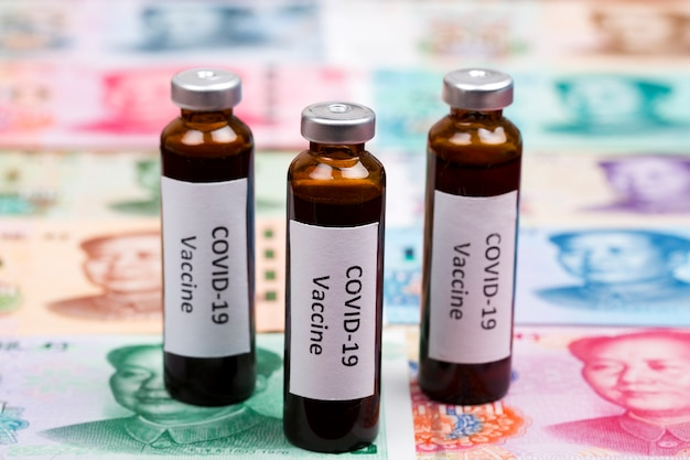 Vaccine against covid-19 over chinese money