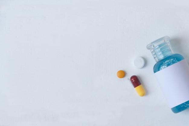 防御ウイルスおよび薬に対するワクチン抗体。 covid-19(新型コロナウイルス感染症