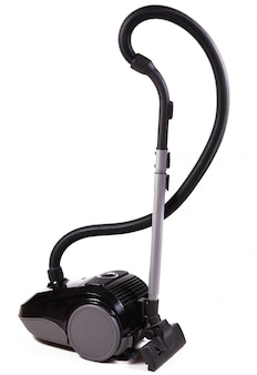 Vacuum cleaner for home on white background