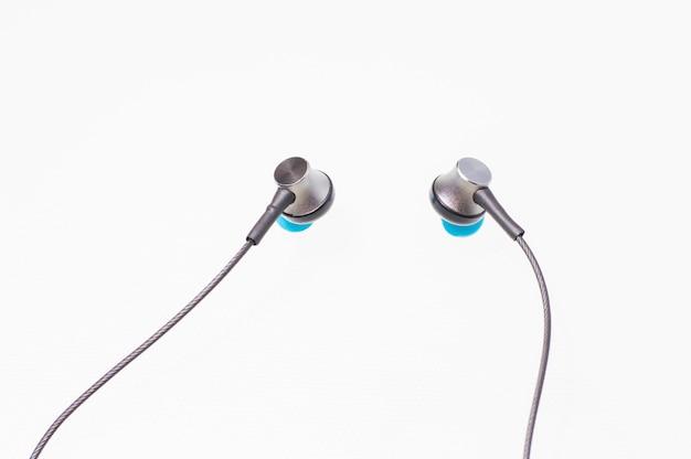 Vacuum headphone isolate on white
