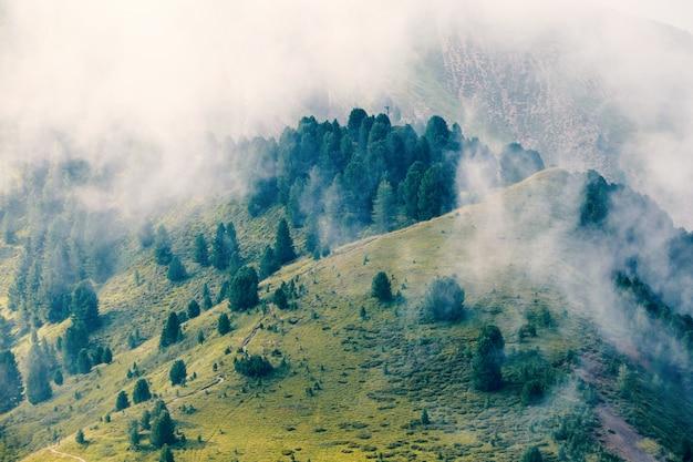 Val gardena mountains valley