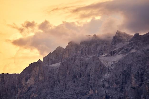 Val gardena mountains