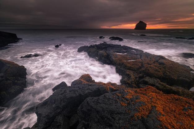 アイスランドレイキャネスタ半島のvalahnkamlエリア