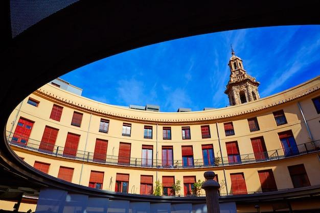 Valencia plaza redonda round square