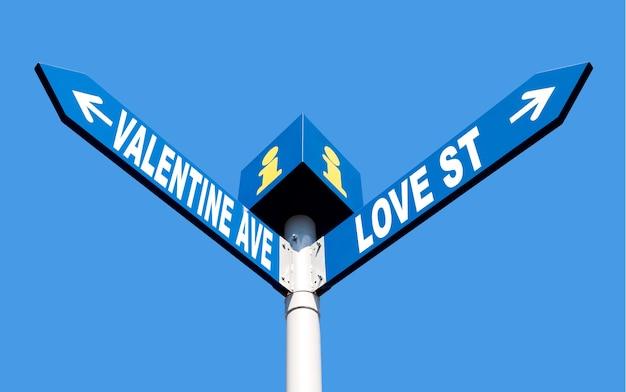 バレンタインアベニューとラブストリート
