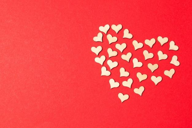 휴일 훈장에 쾌활 한 발렌타인입니다. 프리미엄 사진