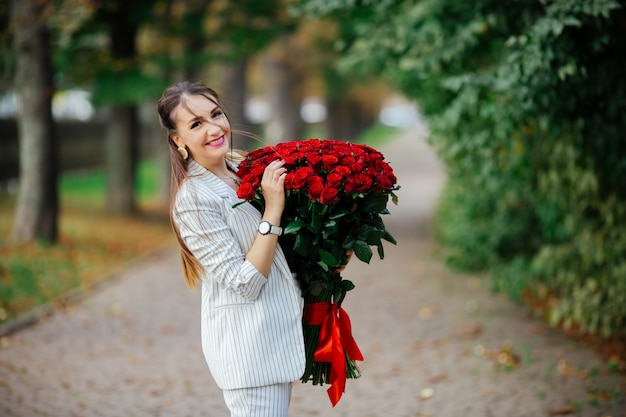 Valentine's day 101 birthday gift for you. beautiful woman with stylish makeup