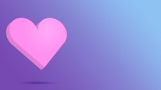 День святого валентина 3d сердце