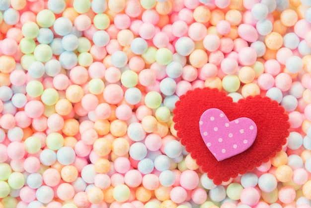 Valentine, wedding and love background concept.