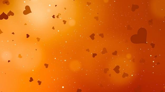 バレンタインデーの抽象的な背景