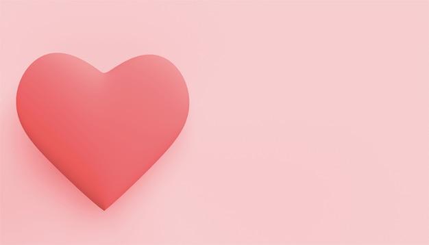 День святого валентина backgraund 3d сердце