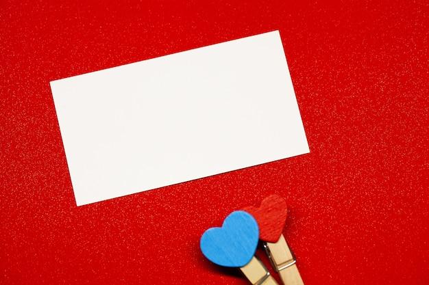 バレンタインデーの背景。テキストのコピースペースの空の場所