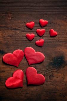 心とバレンタインデーの背景