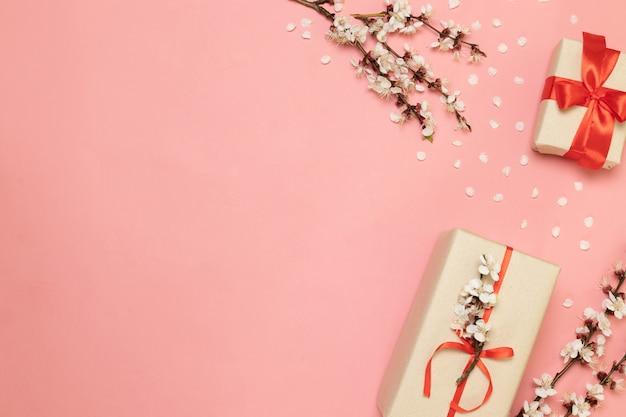 バレンタインデー、母の日、女性の日のコンセプト