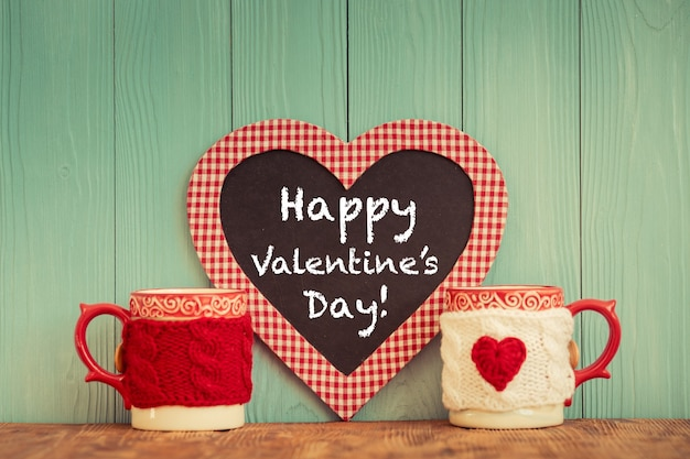 Valentines day ornament. greeting card