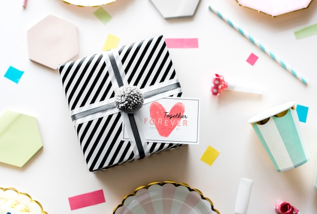 Valentines gift box surprise