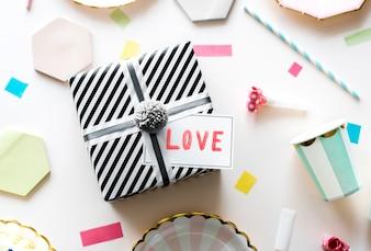 Valentines gift box surprise