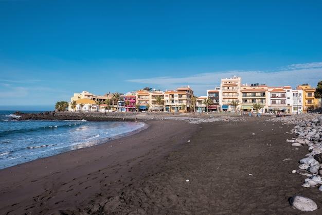 La gomera、カナリア諸島、スペインのヴァッレ・グラン・レイ・ビーチ